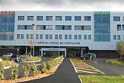 Hopital prive de l'Estuaire du Havre, groupe Generale de Sante